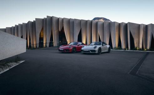 Opvallender en dynamischer dan ooit: De nieuwe Porsche 911 GTS-modellen